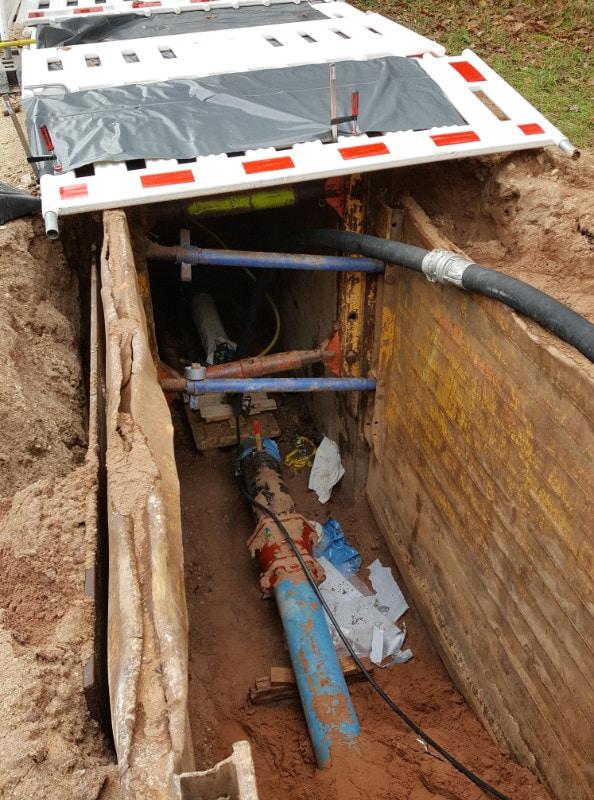 Transportwasserleitung